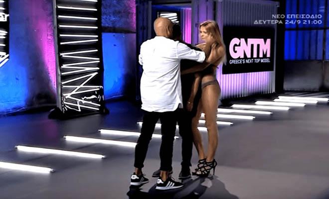 Την πάτησε: Πήγε στο «Next Top Model» να διαγωνιστεί αλλά… τις εντυπώσεις έκλεψε το αγόρι της [Βίντεο]