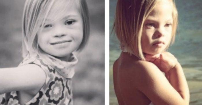 Η 7χρονη με το Σύνδρομο Down που έριξε το YouTube. Δείτε το Αξιολάτρευτο Βίντεο από τη Ζωή της! Δεν είναι Κούκλα;