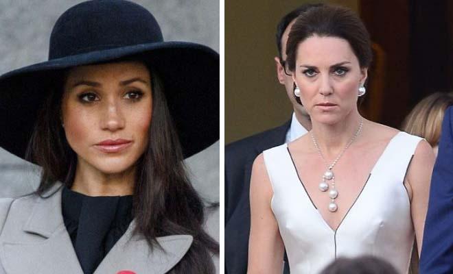 Πανικός στο Παλάτι: Στα Μαχαίρια η Μeghan Markle με την Kate Middleton και δεν Φαντάζεσαι το Λόγο
