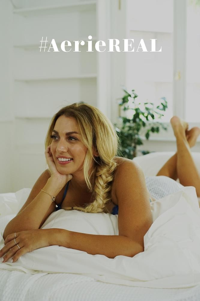Η Κωνσταντίνα Σπυροπούλου γίνεται πρέσβειρα του body positive κινήματος #ΑerieREAL