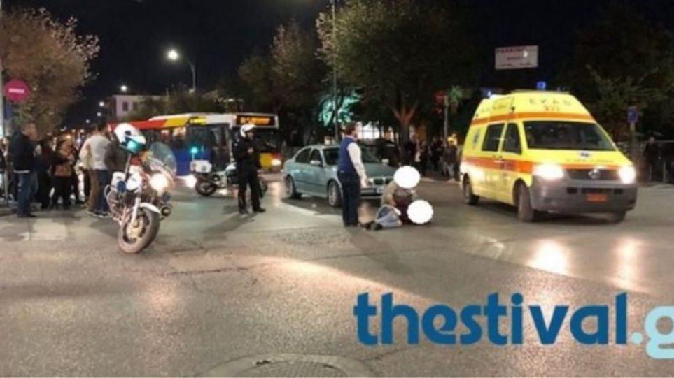 Θεσσαλονίκη: ΙΧ παρέσυρε καρότσι με βρέφος