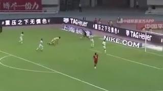 Απίθανο γκολ από τον Όσκαρ στη Κίνα!