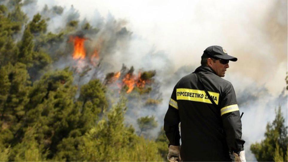Πολύ υψηλός κίνδυνος πυρκαγιάς την Τετάρτη