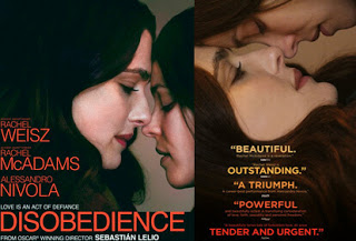Disobedience – Ανυπακοή, Πρεμιέρα: Οκτώβριος 2018 (trailer)