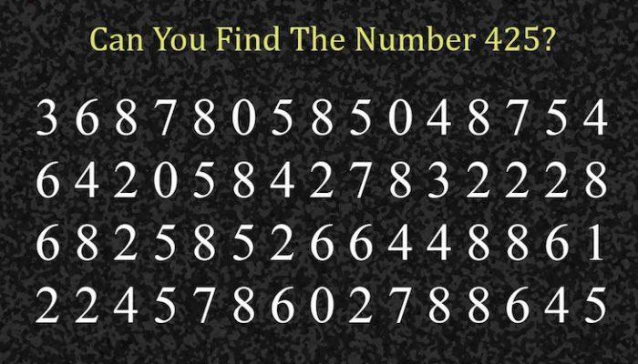 Η Σπαζοκεφαλιά που έχει Τρελάνει το ίντερνετ! Μόνο 1 στους 10 Μπόρεσε να βρει τον Κρυμμένο Αριθμό αυτής της Εικόνας. ΕΣΥ;