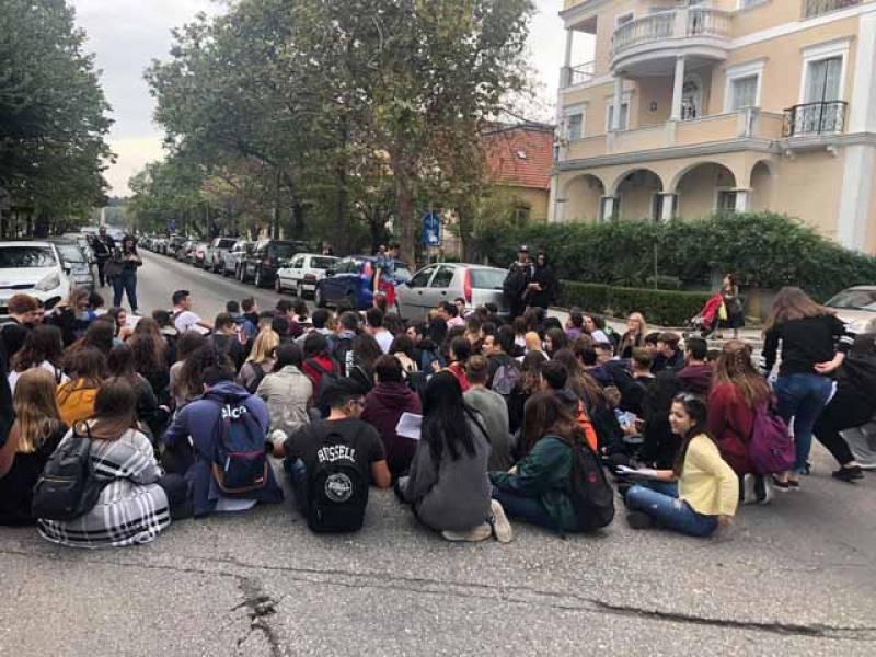 Μαθητική διαμαρτυρία και στην Κέρκυρα