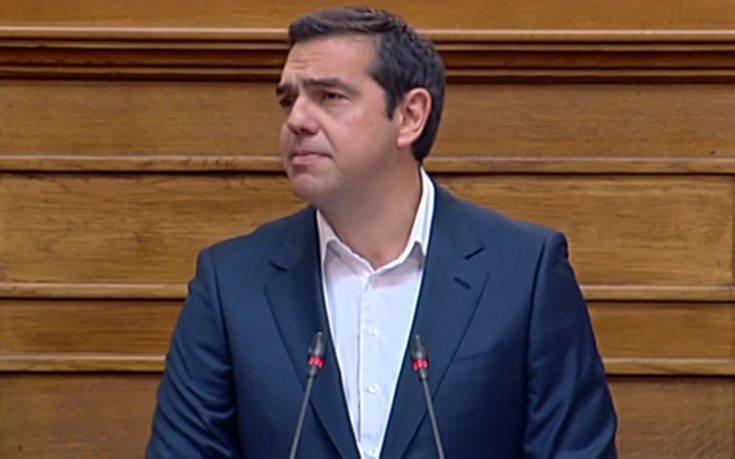Τσίπρας: Προτείνουμε αναλογικό εκλογικό σύστημα και εποικοδομητική ψήφο δυσπιστίας