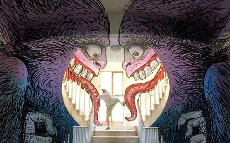 Καλλιτέχνες του δρόμου που μεταμόρφωσαν τοίχους και κτίρια