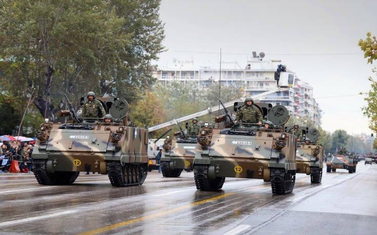 Δοκιμαστική παρέλαση Μηχανοκίνητων Τμημάτων σήμερα στην εθνική Θεσσαλονίκης – Μουδανιών