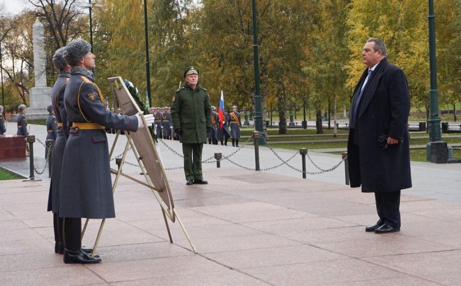 Στη Ρωσία ο υπουργός Άμυνας Πάνος Καμμένος