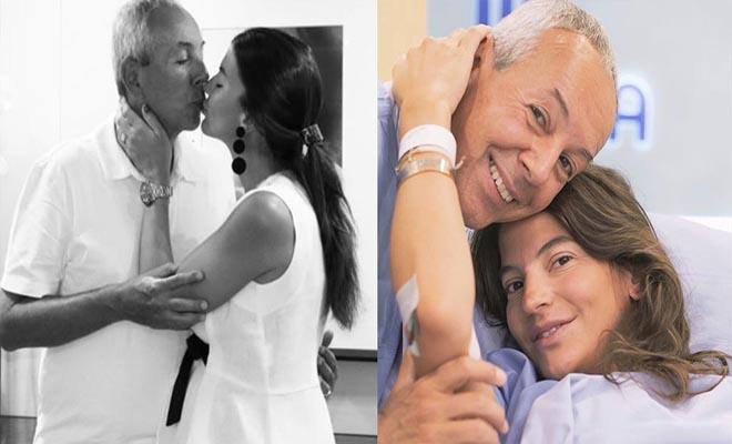 Δήμητρα και Γιάννης Κούστας: Κρατούν επιτέλους την κόρη τους αγκαλιά