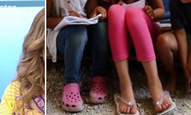 «Ανέβαινα τελευταία τα Σκαλιά στο Σχολείο για να Μη φαίνονται τα Παπούτσια μου που ήταν Σκισμένα»