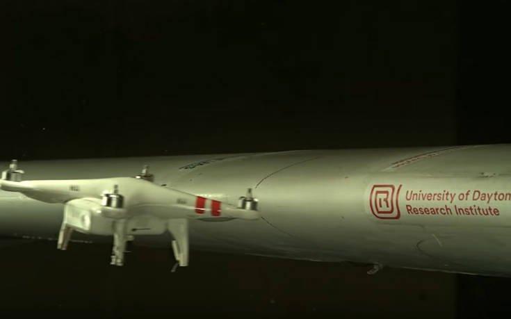 Πώς φαίνεται σε πολύ αργή κίνηση η σύγκρουση ενός drone με ένα αεροσκάφος