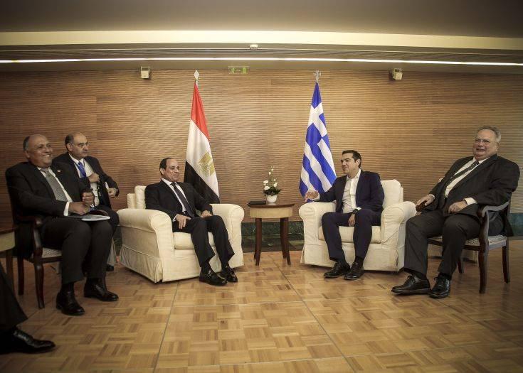 Σε εξέλιξη οι τριμερείς διαβουλεύσεις Ελλάδας-Κύπρου-Αιγύπτου