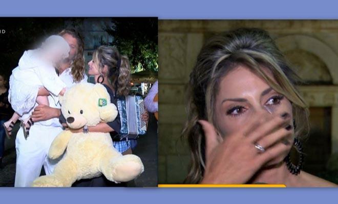 Λάσπα – Νικολόπουλος: Τα πρώτα πλάνα από τη βάφτιση της κόρης τους – Τα δάκρυα της Κατερίνας