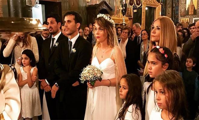 Το άλμπουμ του ρομαντικού γάμου της Λένας Παπαληγούρα -Οι πιο όμορφες φωτογραφίες του νεόνυμφου ζευγαριού