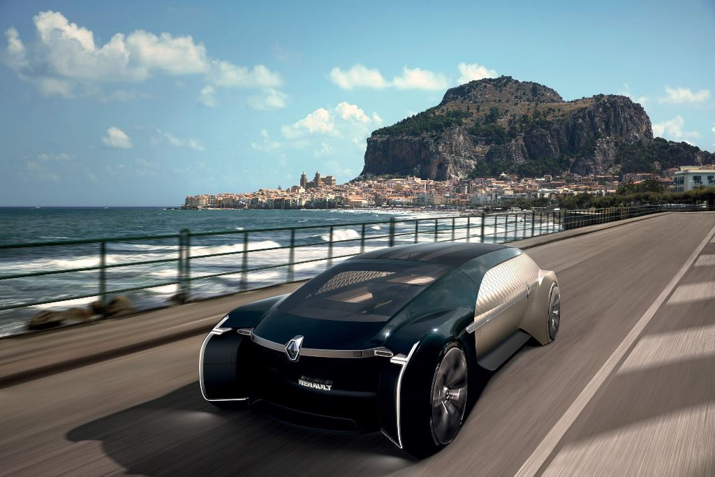 Renault EZ-ULTIMO: Ένα ρομποτικό όχημα για premium μετακινήσεις