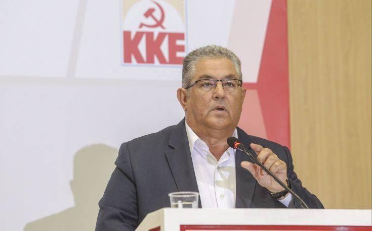 Κουτσούμπας: Να μην επαναπαύεται ο λαός στα ψίχουλα ανακούφισης της κυβέρνησης