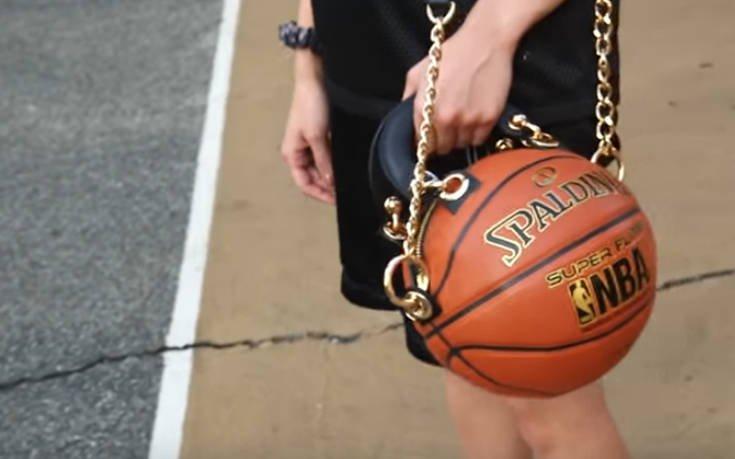 Μετατρέπει τις μπάλες του μπάσκετ σε τσάντες