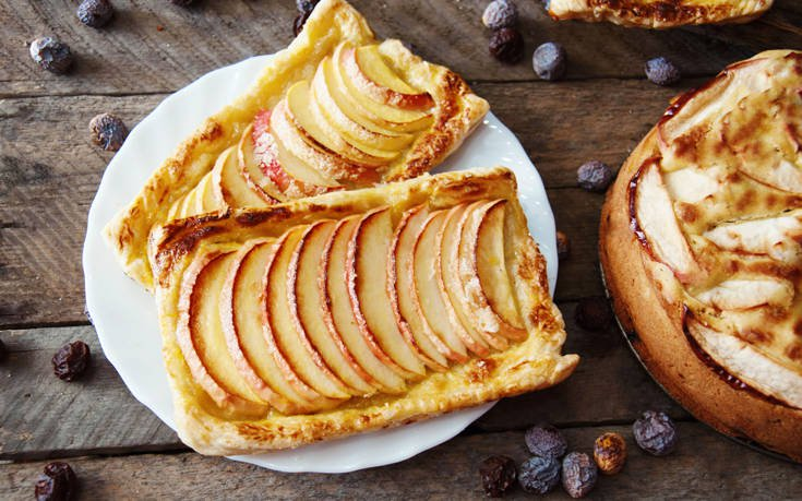 Τάρτα μήλου με σφολιάτα