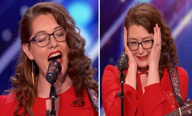 Μια κωφή κοπέλα που τραγουδάει και παίζει κιθάρα άφησε τους κριτές με το στόμα ανοιχτό!!! [Βίντεο]