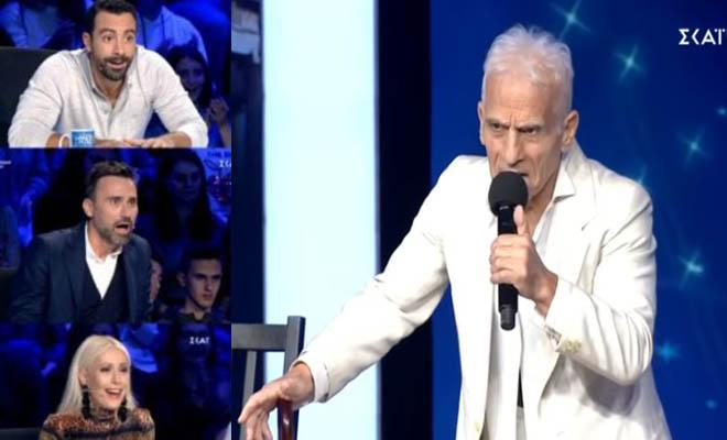 Ελλάδα έχεις Ταλέντο: Ο 74χρονος που άφησε τους πάντες άφωνους! Δεν πίστευαν στα μάτια τους…