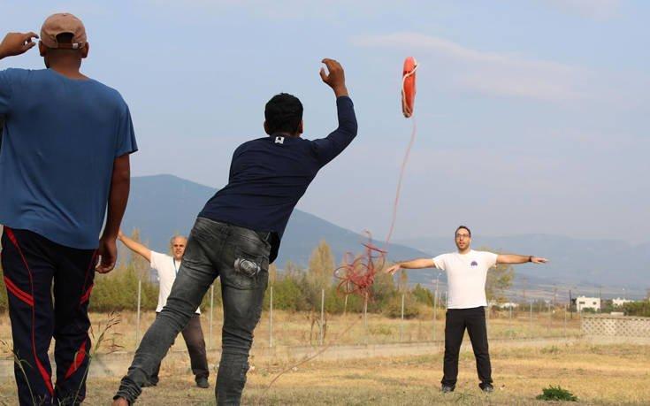 Εκπαιδευτικές δράσεις πρώτων βοηθειών και αυτοπροστασίας για πρόσφυγες