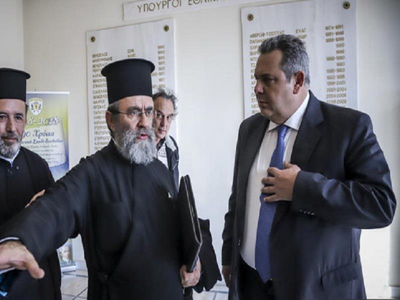 Καμμένος: Δίκαια τα αιτήματα των κληρικών