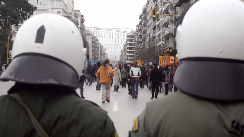 Θεσσαλονίκη: Καταδίκη αστυνομικού των ΜΑΤ για επικίνδυνη σωματική βλάβη σε διαδηλωτή