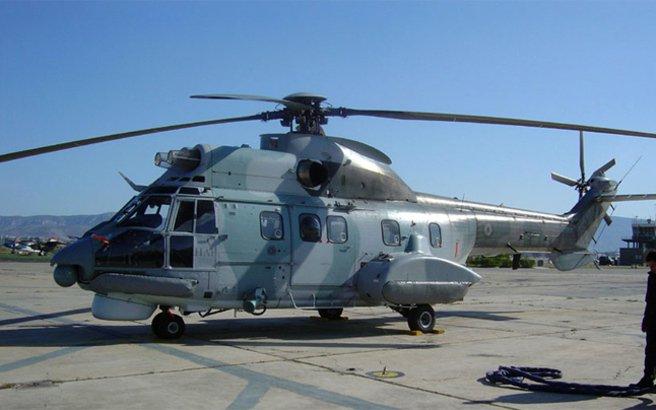 Αερομεταφορά  ασθενούς από κρουαζιερόπλοιο με Super Puma