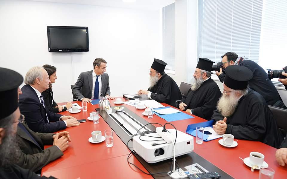 Μητσοτάκης: Η ΝΔ δεν θα αναγνωρίσει μονομερή αλλαγή του εργασιακού καθεστώτος των κληρικών