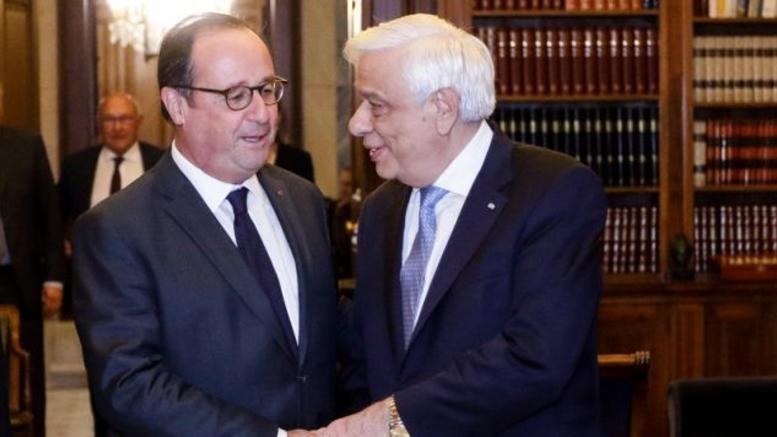 Ολάντ: Ιστορικό το τηλεφώνημα Παυλόπουλου το 2015 – Κράτησε την Ελλάδα στο ευρώ