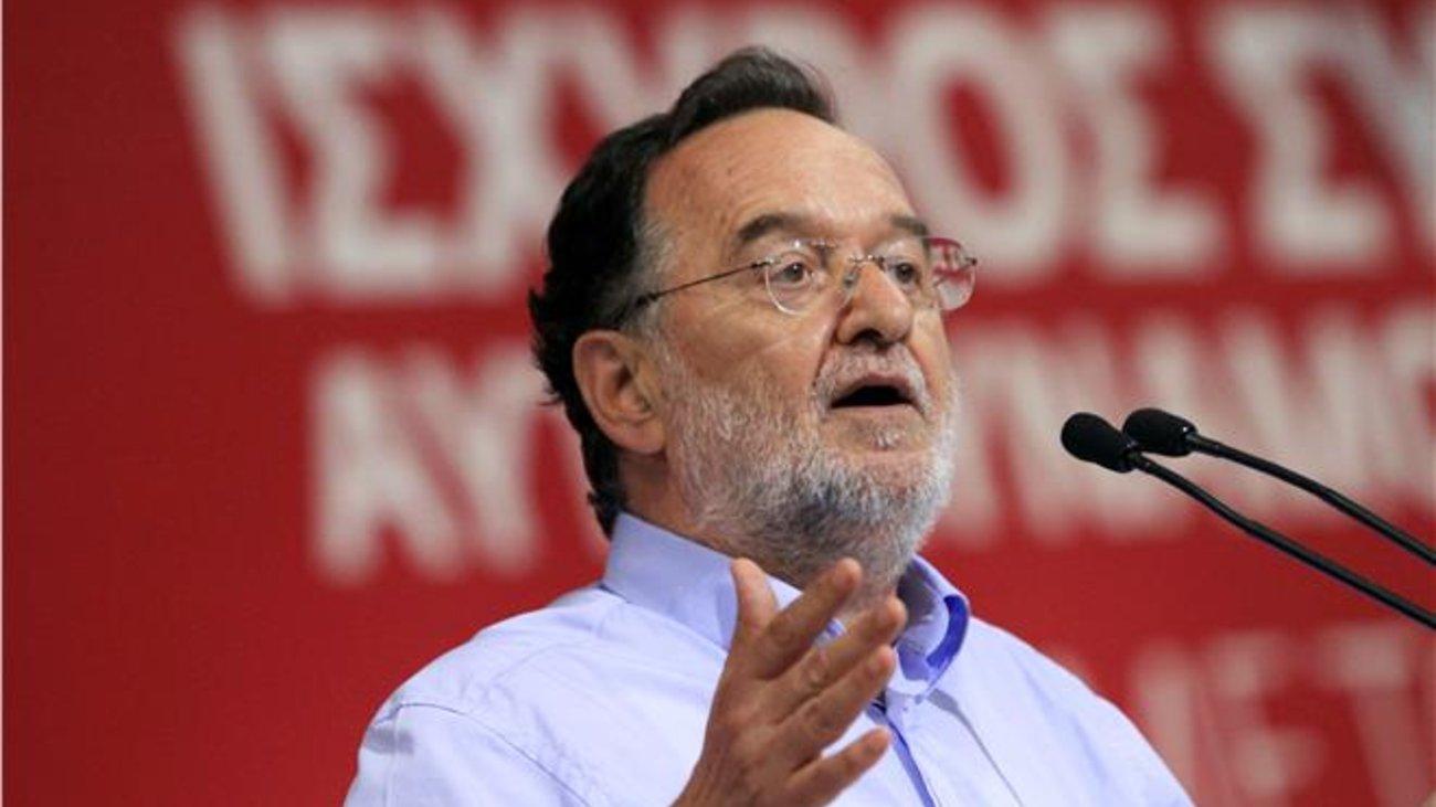 Λαφαζάνης: Έγκλημα των εγκλημάτων το γεγονός ότι η κυβέρνηση πάει να τελειώσει τον νόμο Κατσέλη
