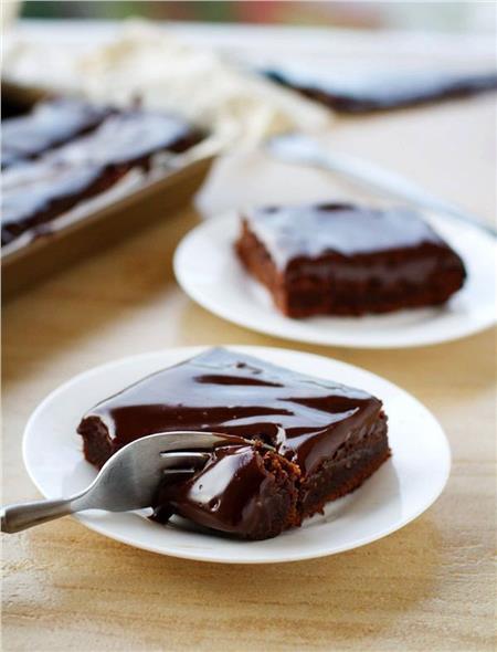 Συνταγή για την πιο εύκολη και λαχταριστή σοκολατόπιτα