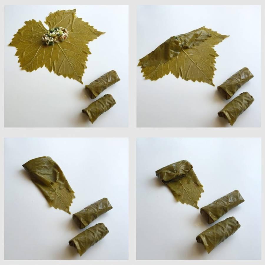 Ντολμαδάκια γιαλαντζί με αμπελόφυλλα!