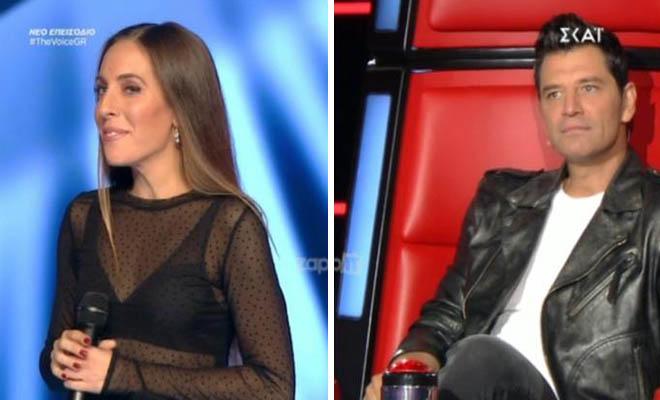 The Voice: «Πάγωσε» ο Σάκης Ρουβάς! «Έχουμε ξανασυναντηθεί Σάκη…»