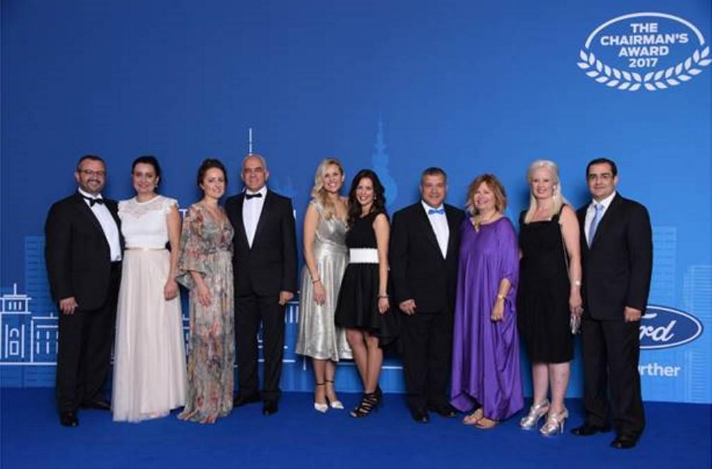 Τέσσερις Έλληνες Επίσημοι Έμποροι της Ford βρέθηκαν ανάμεσα στους κορυφαίους της Ευρώπης