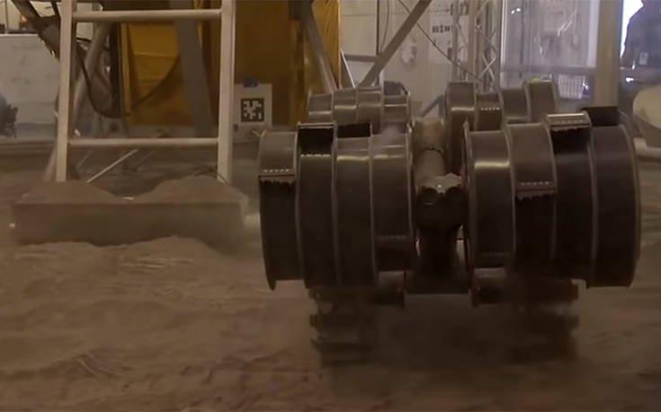 Η NASA δοκιμάζει τα πειραματικά ρομπότ της για τον Άρη