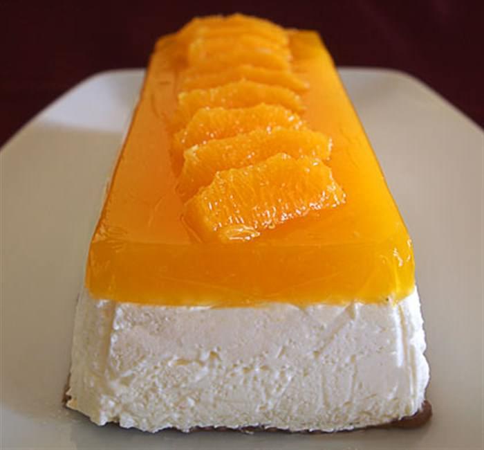 Τσιζκέικ με άρωμα και ζελέ πορτοκάλι!!!