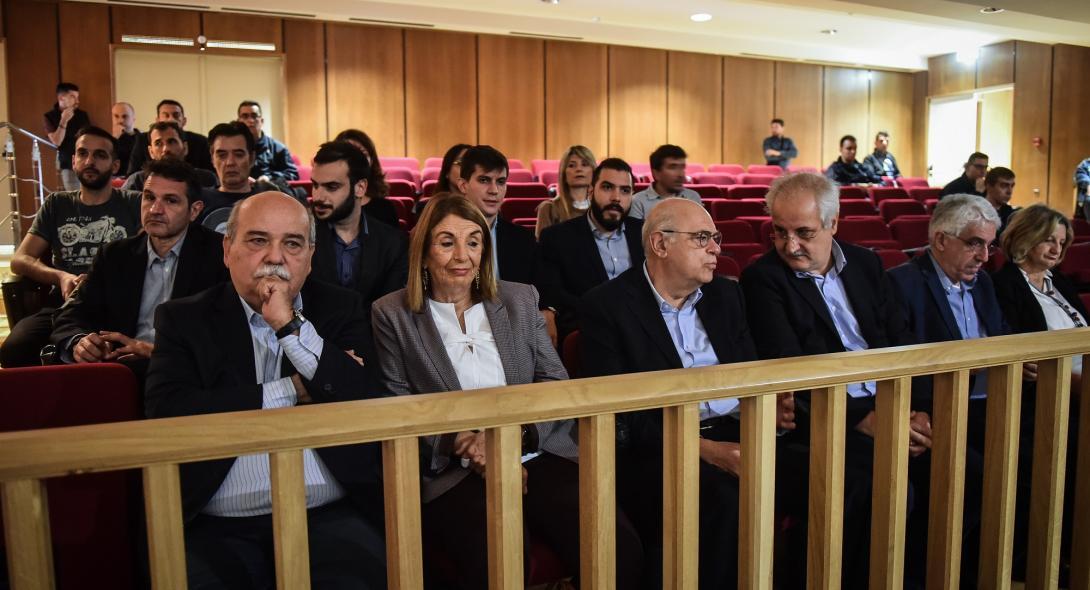 Βούτσης: Πολιτική πράξη η παρουσία μας στη δίκη της Χρυσής Αυγής