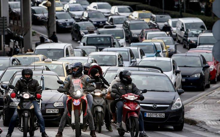 Οι δρόμοι που παρουσιάζονται κυκλοφοριακά προβλήματα