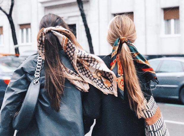 7 τρόποι για να δέσεις το φουλάρι στα μαλλιά σου
