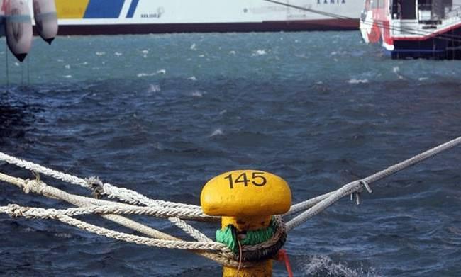Δεμένα τα πλοία και στα λιμάνια της Κρήτης