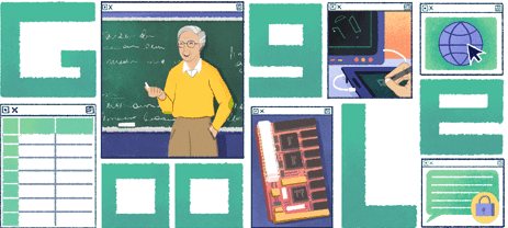 Μιχάλης Δερτούζος, η Google αφιερώνει το doodle στον Έλληνα που ήταν πίσω από το διαδίκτυο