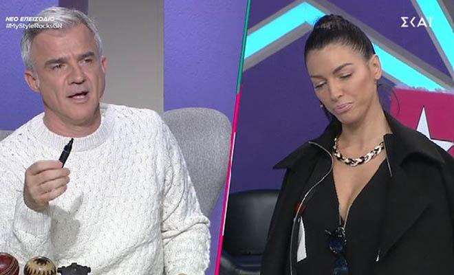 My style rocks: Ο Αργυρόπουλος χαρακτήρισε την Μπάση καρνάβαλο και έγινε χαμός