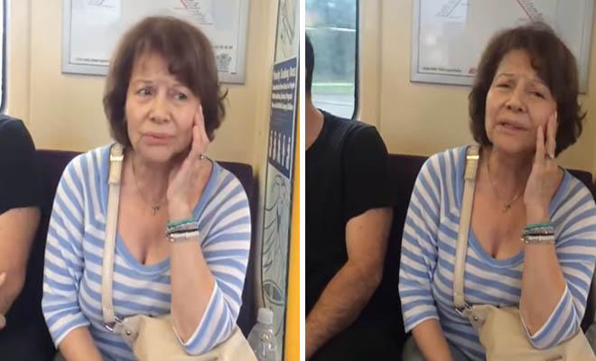 Η Πίτσα Παπαδοπούλου τραγουδά ακόμα και μέσα στο τραμ και αποδεικνύει πως παραμένει τεράστια
