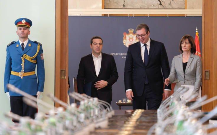 Τσίπρας από το Βελιγράδι: Η Ελλάδα παίζει σταθεροποιητικό ρόλο στην περιοχή