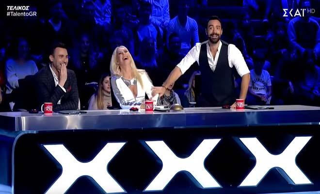 «Ξεσήκωσαν» το κοινό οι τρεις Νοτιοαφρικάνοι που τραγούδησαν Ρέμο στον τελικό του «Ελλάδα έχεις Ταλέντο» [Βίντεο]