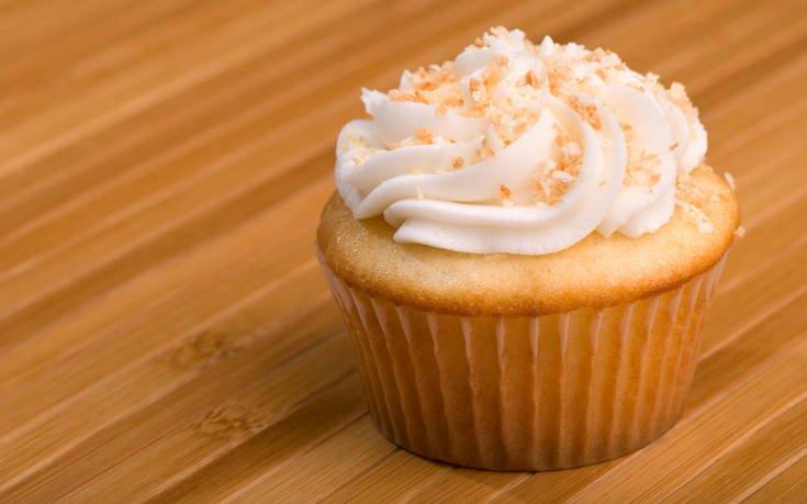 Cupcakes καρύδας