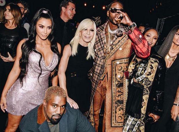 Η Blake, η Kim, η Lupita και το Pre-Fall show του Versace στη Νέα Υόρκη